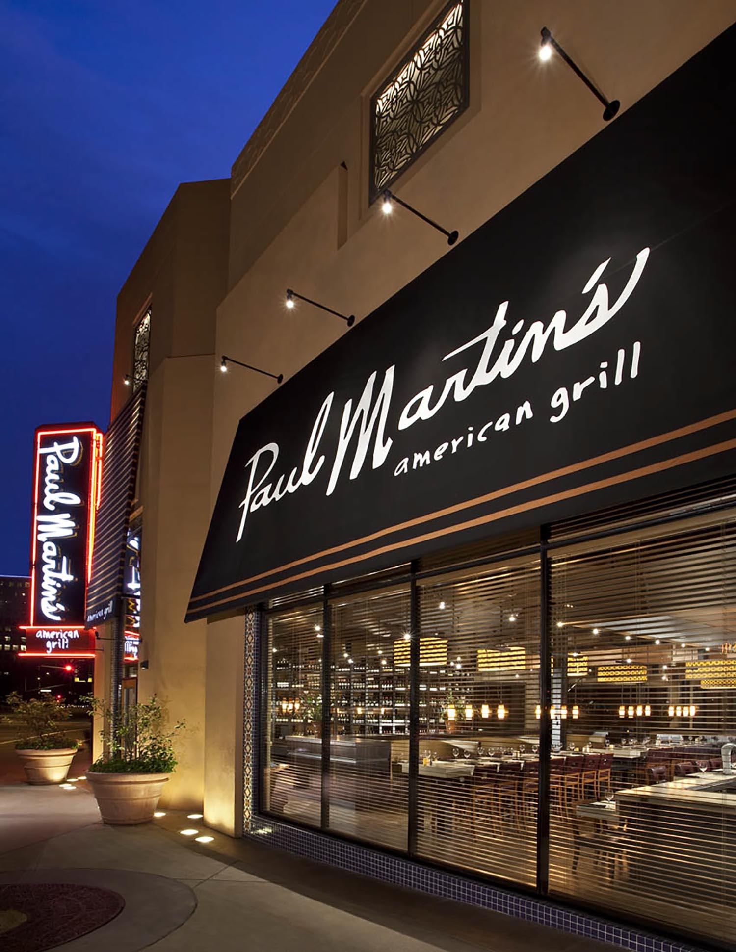 Irvine Restaurant Paul Martin S American Grill