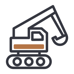 Backhoe icon