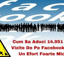 trafic de pe Facebook
