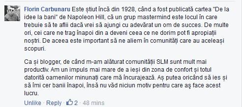 Ce spune Florin Carbunaru despre SLM