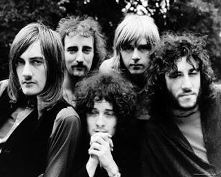 The Mac in 1969. Mick Fleetwood's far left