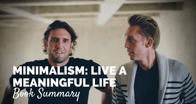Minimalism book summary and pdf