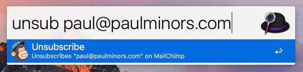 alfred mailchimp