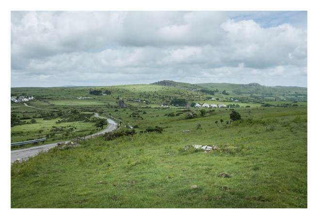 The Cheesewring from Caradon Hill, Bodmin Moor