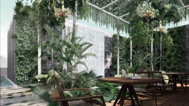 Junction Nine Residences--greenhouse
