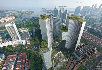 DUO Residences Aerial View