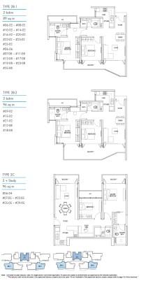 Kallang Riverside Floorplan 3