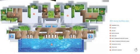 kallang riverside - siteplan level 24