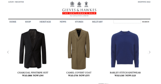 Gieves and Hawkes
