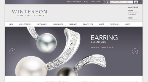 Winterson Ecommerce Websites