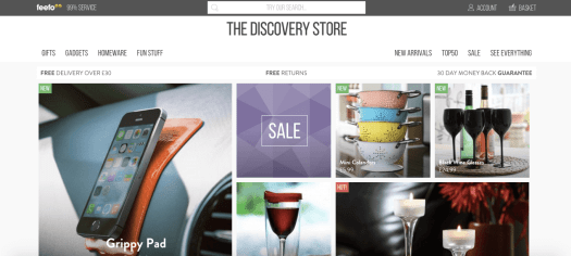 The Discovery Store Magento Site