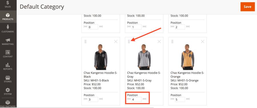 Visual Merchandising Magento