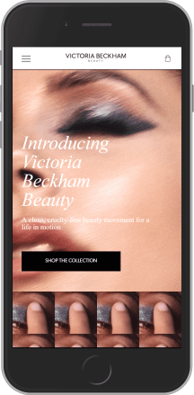 Victoria Beckham Beauty on mobile