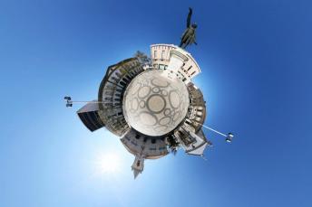 Praça da República em Aveiro