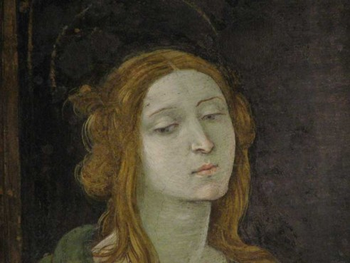 The Virgin by Filippino Lippi