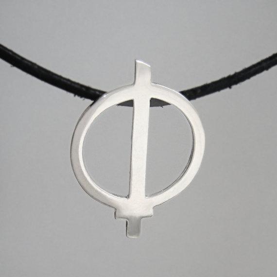 Warrior of Light Pendant Necklace