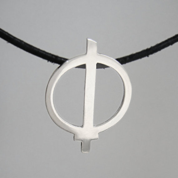 Warrior of Light Pendant Necklace