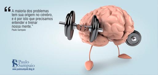 A maioria dos problemas tem sua origem no cérebro