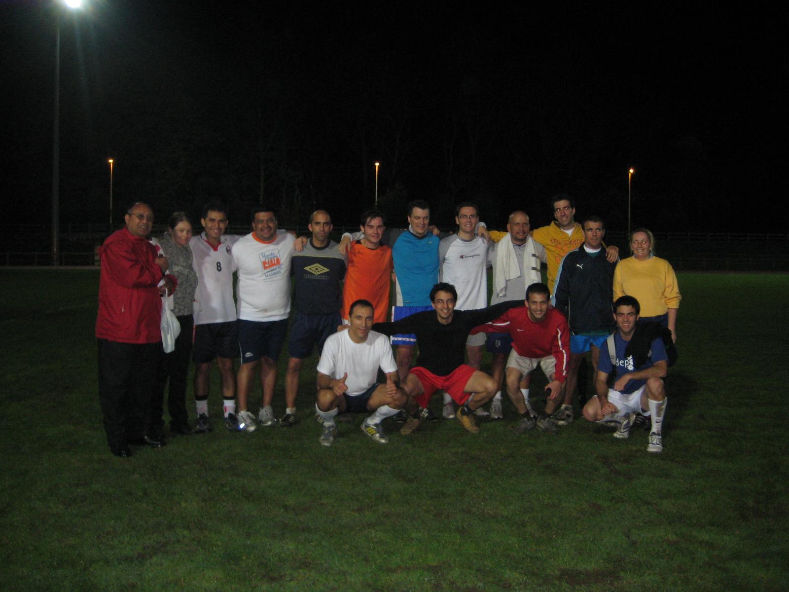 Jogo de futebol em Torrelavega