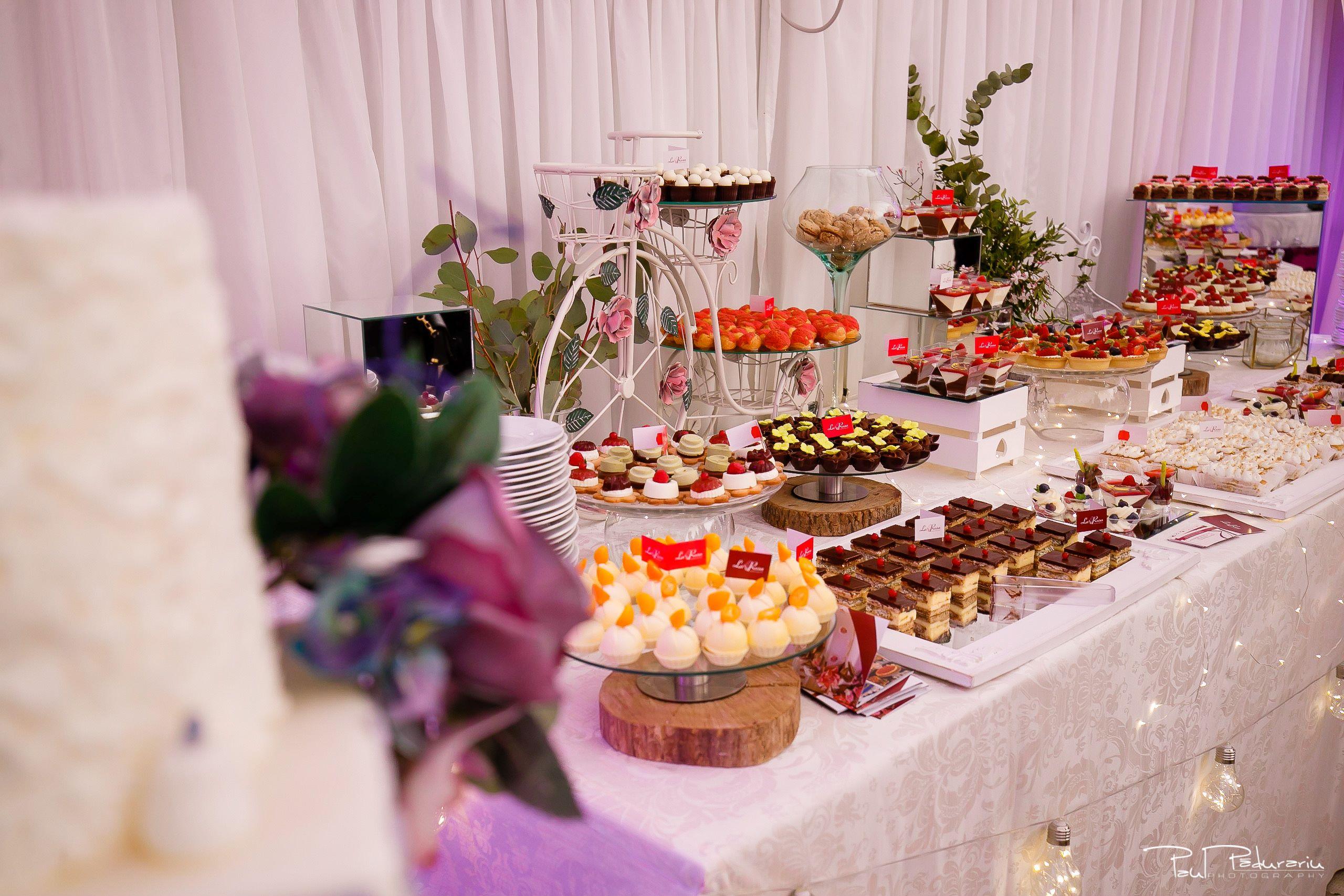 Cofetaria La Rosa - prajituri, torturi si candy bar pentru nunta Iasi fotograf Paul Padurariu 15