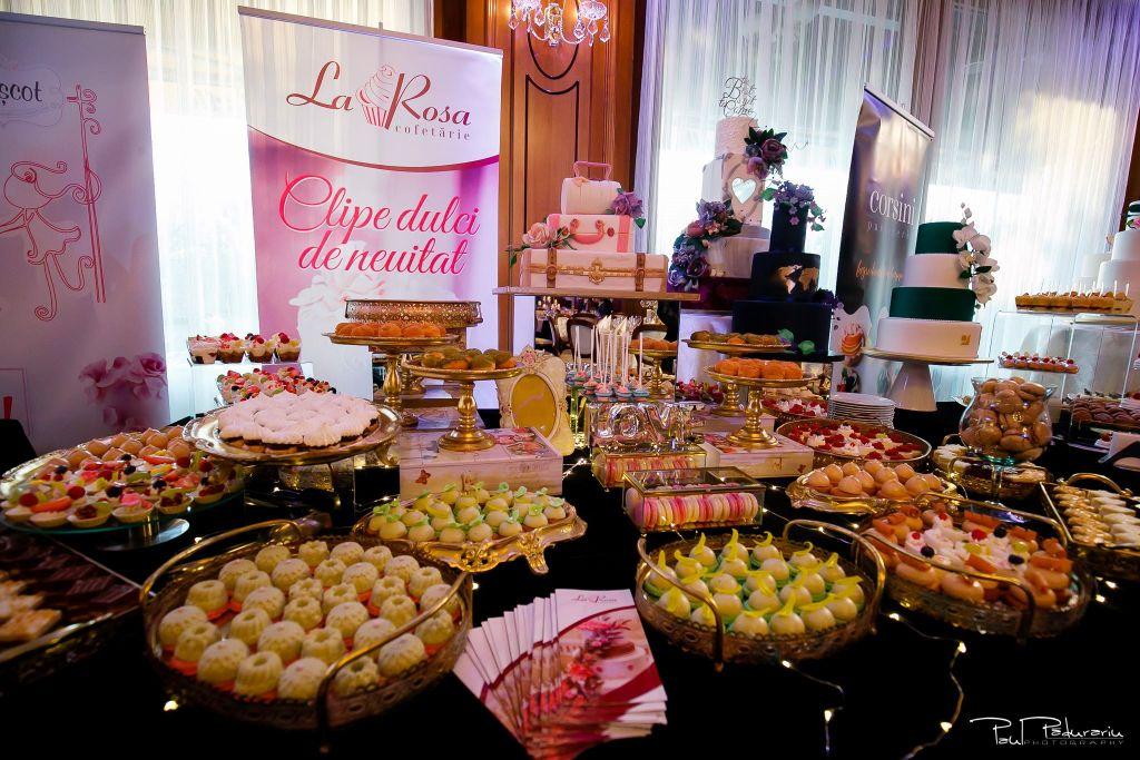 Cofetaria La Rosa - prajituri, torturi si candy bar pentru nunta Iasi fotograf Paul Padurariu 16