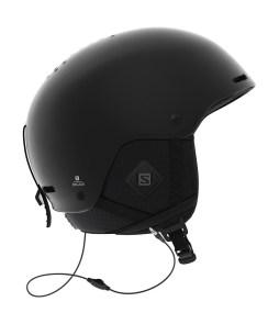 Salomon Brigade Audio Helmet Black