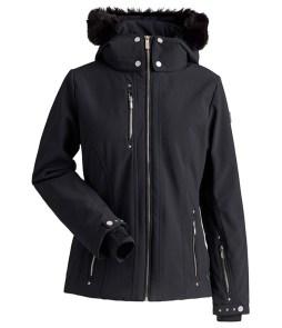Nils Cossette Faux Fur Jacket Black