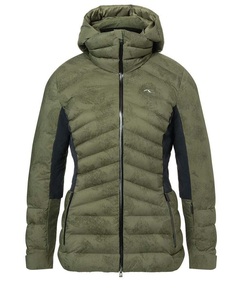 Kjus Duana Women's Jacket Int Green/Black
