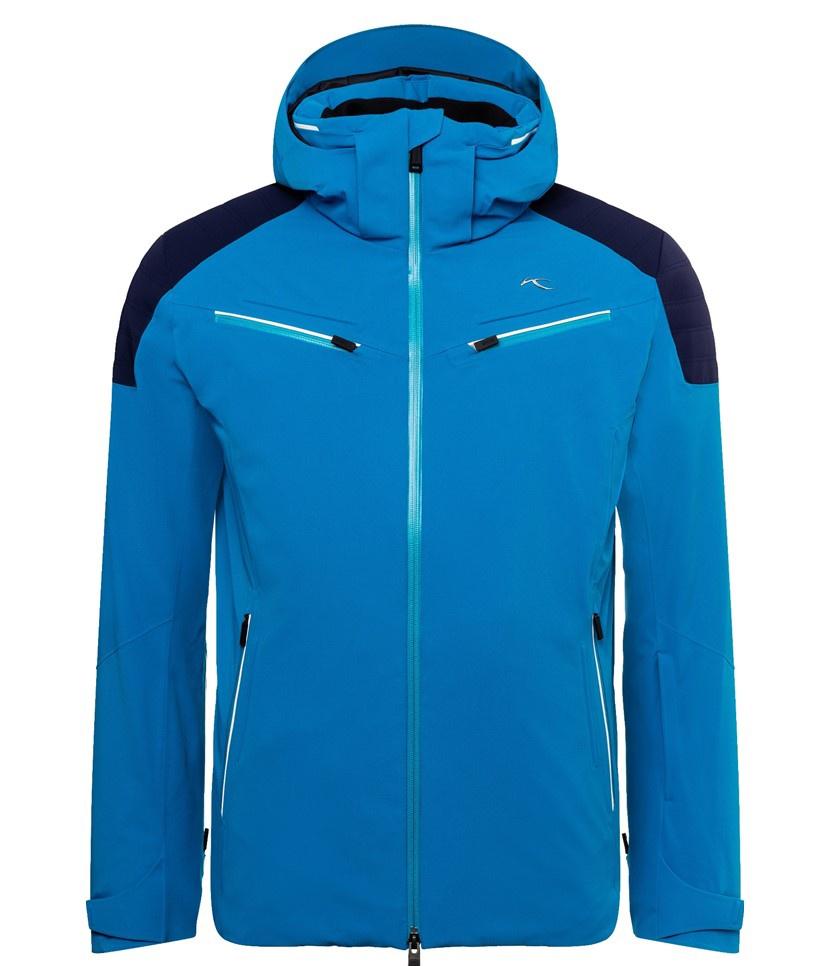 Kjus Formula Men's Jacket Aruba Blue/Atlanta Blue