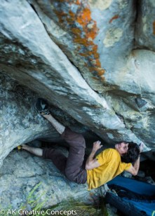 Ground Swell V13 2nd ascent, Cape Town South Africa