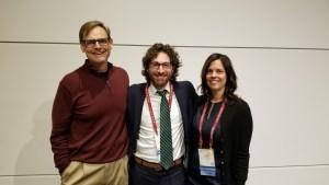 Timothy Chester, Jonathan Gagliardi, and Gina Johnson