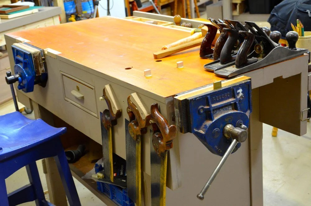 More On My Small Joinery Workbench Paul Sellers Blog