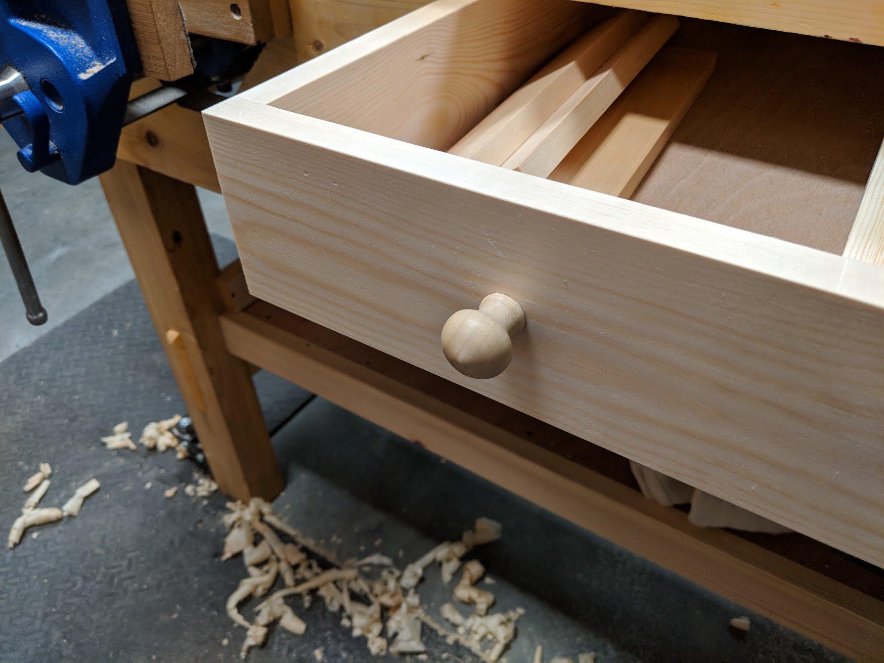 I Made My Workbench Draweragain Paul Sellers Blog