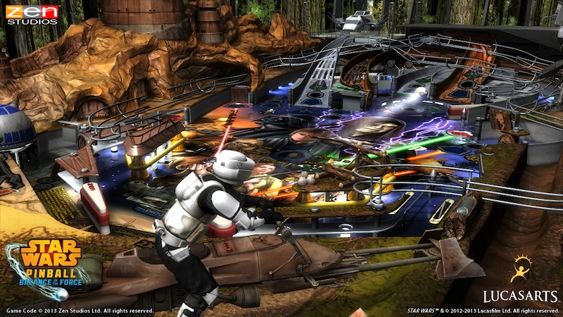 Star Wars Pinball Episode_VI_Table_Playfield