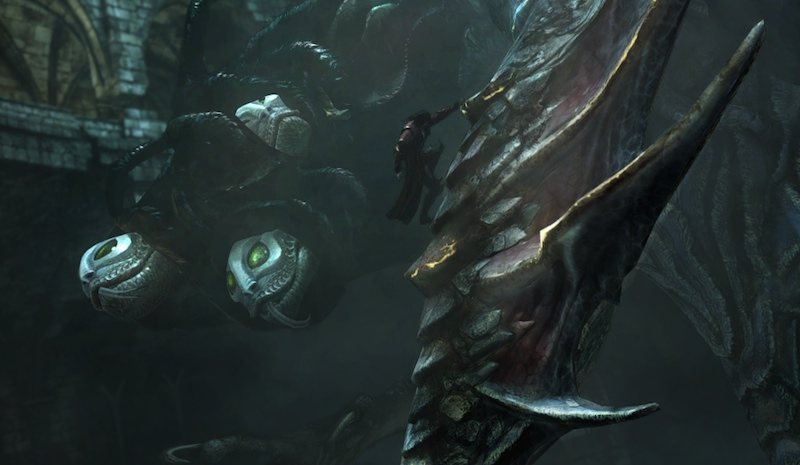 Lords Of Shadow 2 climbing