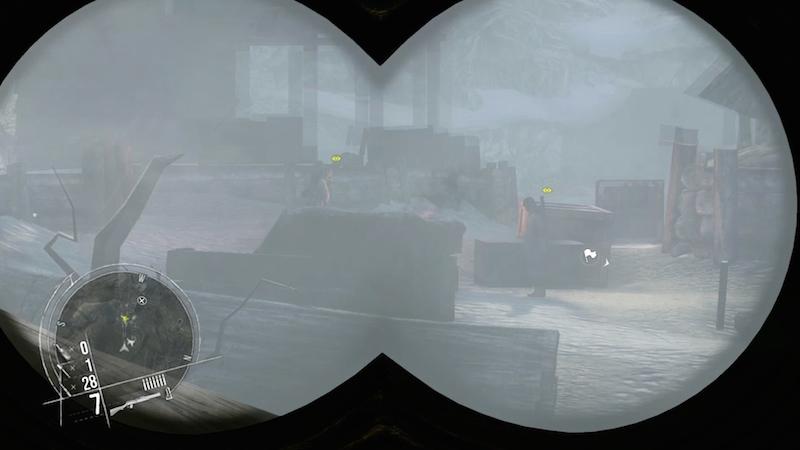 Enemy Front binoculars