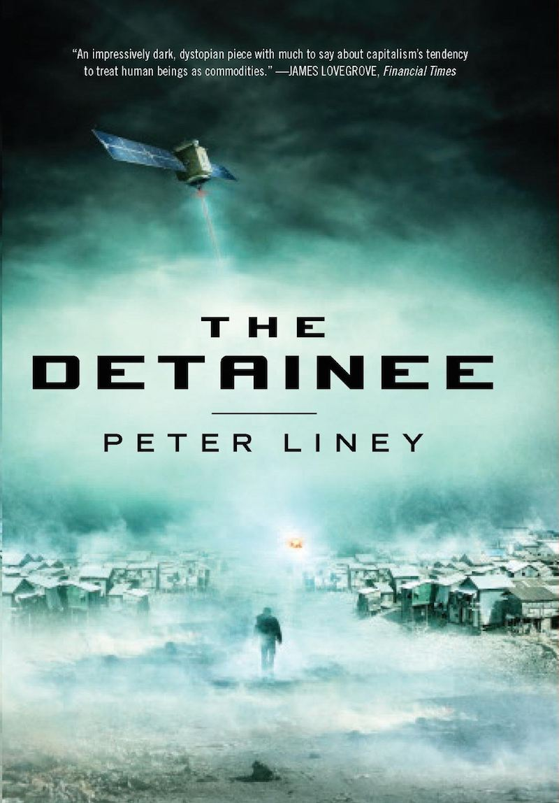 Peter Liney The Detainee cover