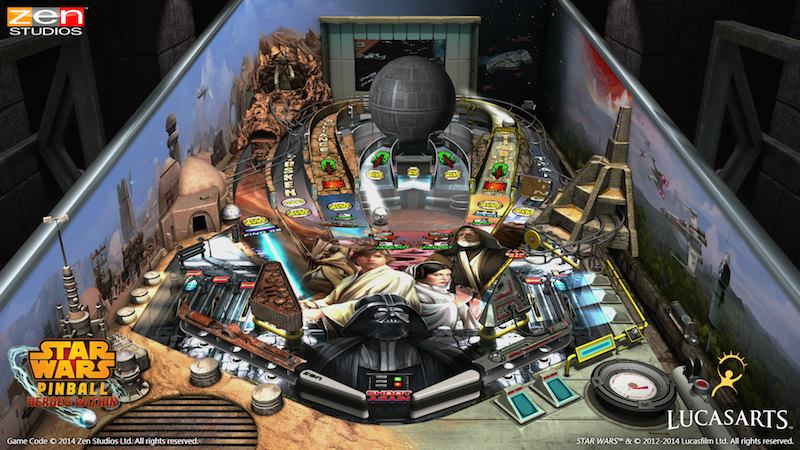 Star Wars Pinball Heroes Within Episode IV