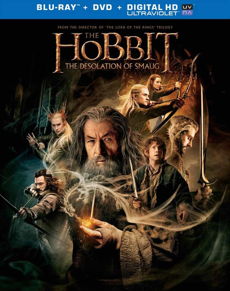 The Hobbit The Desolation Of Smaug cover