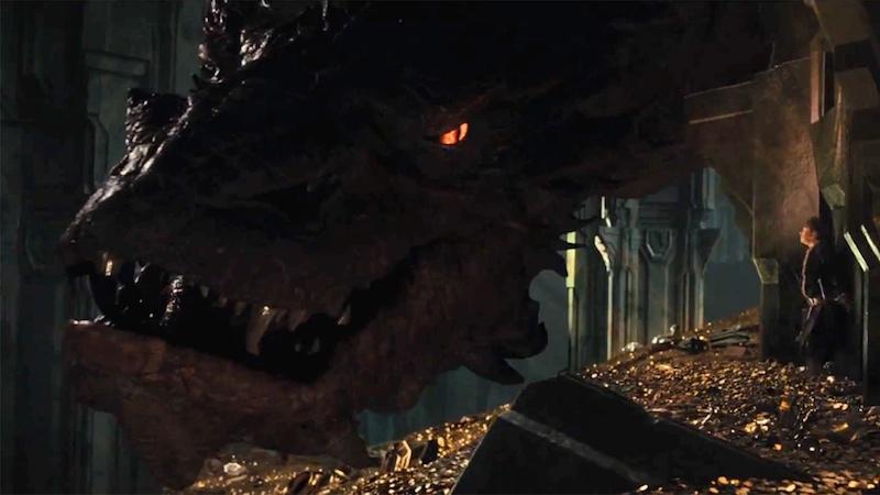 The Hobbit The Desolation Of Smaug dragon