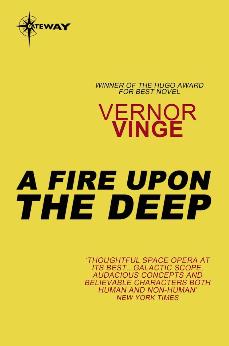 Bill DeSmedt Dualism Singularity Vernor Vinge A Fire Upon The Deep