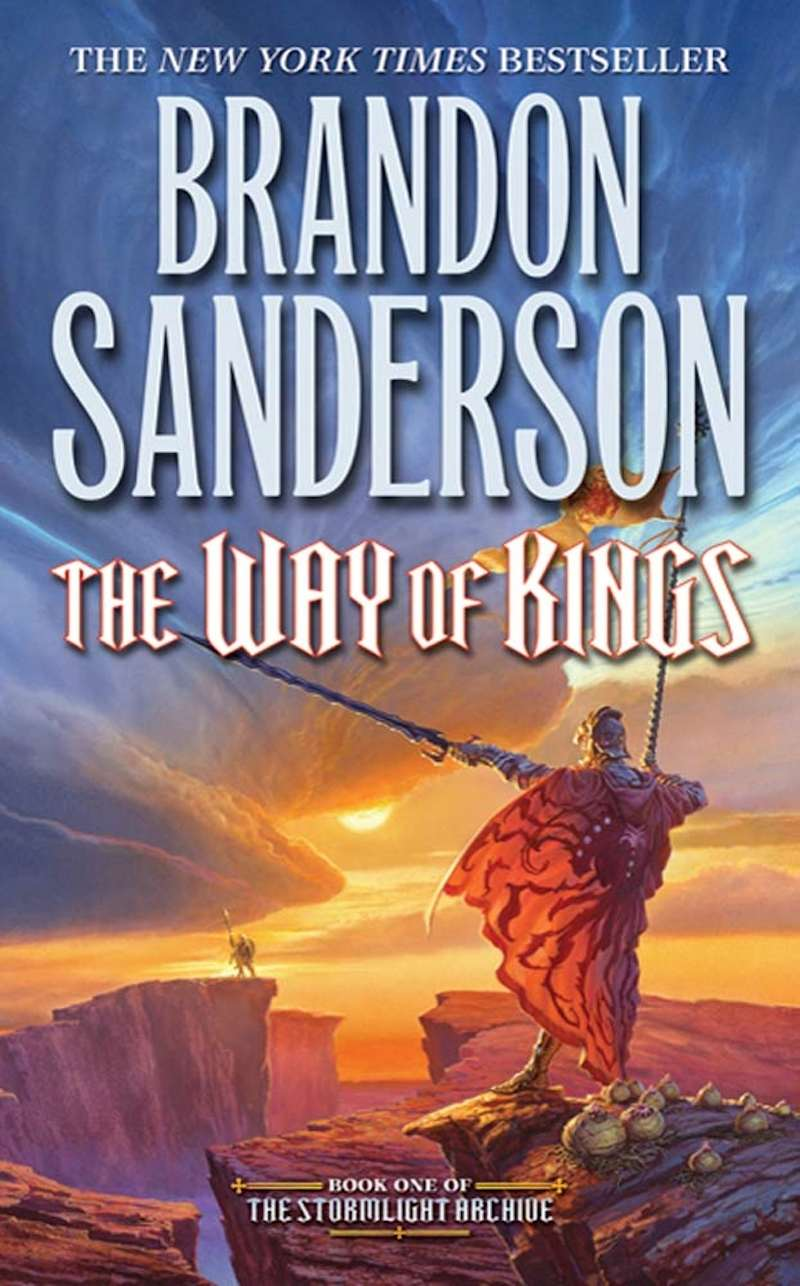 Brandon Sanderson The Stormlight Archive The Way Of Kings cover