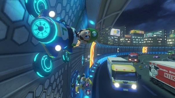 Mario Kart 8 wall drive