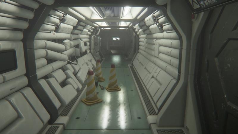 Alien Isolation architecture
