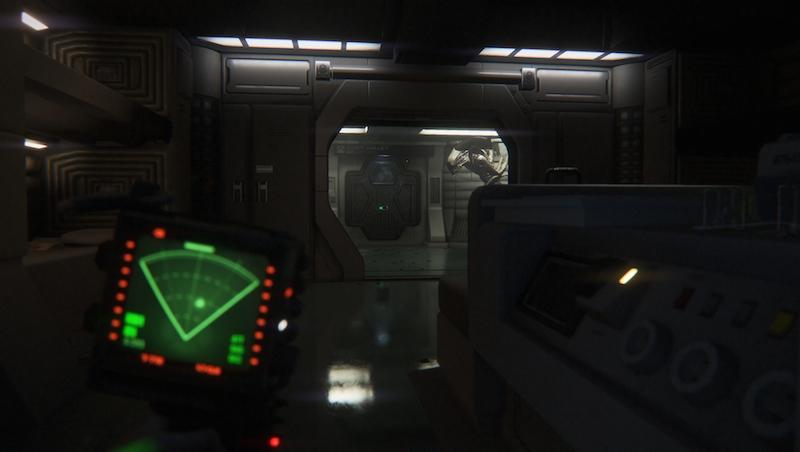 Alien Isolation scanner