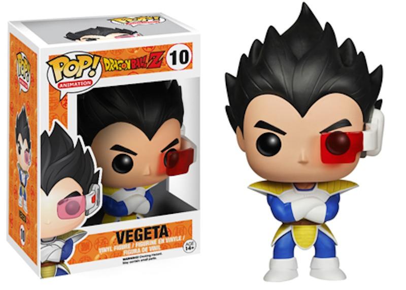 Dragon Ball Z Funko 10 Vegeta
