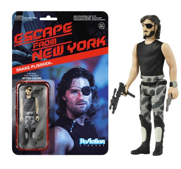 Escape From New York Snake Plissken no coat