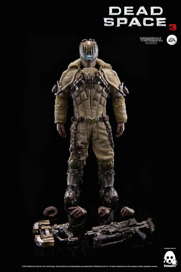 Dead Space 3 Isaac Clarke statue extras