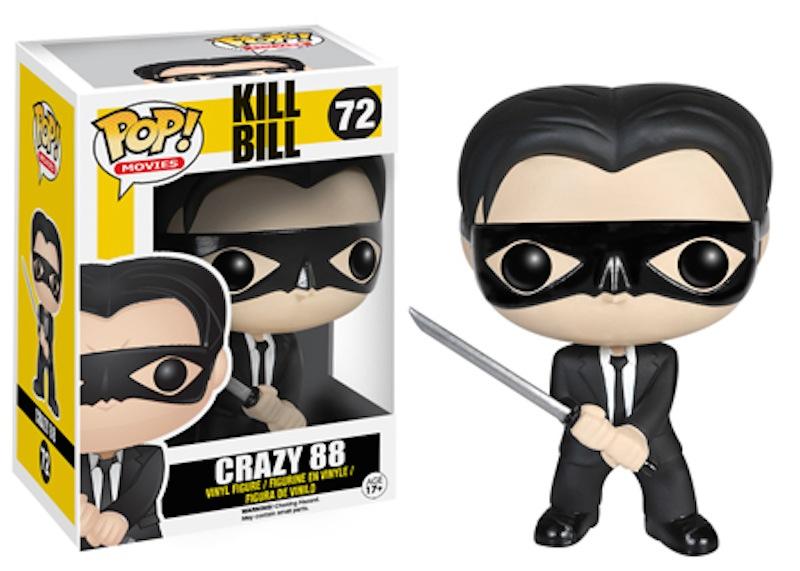 Funko Kill Bill Pop 72 Crazy 88