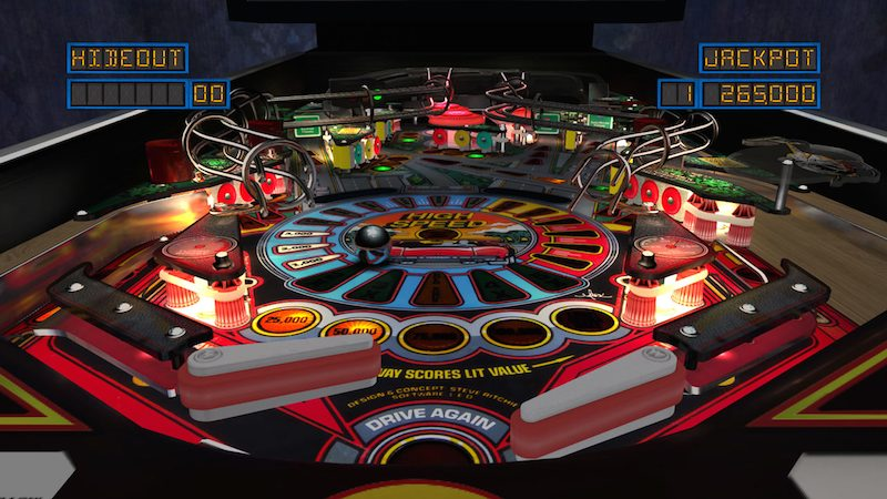 The Pinball Arcade High Speed